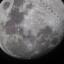 Astrophotographer Josh Kirkley managed to catch the International Space Station passing over the moon, a rare event he says may be the first time it has been done in New Zealand. Photo: Josh Kirkley