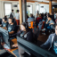 """The OpenAI Five, a team of bots, will be competing at """"The International"""", one of the biggest gaming competitions of the year. Photo: OpenAI"""