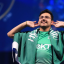 Saudi Arabia's Mosaad 'MSDossary' Aldossary celebrates his victory in the Fifa eWorld Cup final in London.