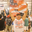 A photo of suspected mail bomber Cesar Sayoc attending a pro-Trump rally, in an image posted to his Facebook page. Photo: facebook