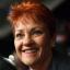 Australian senators Brian Burston and Pauline Hanson. Photos: EPA and AFP