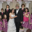 David and Louise Turpin, surrounded by their children, renew their wedding vows in Las Vegas in this 2011 handout picture. Photo: Supplied