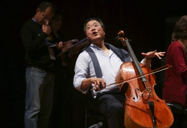 At Yo-Yo Ma China music camp, classical musicians learn improv, how