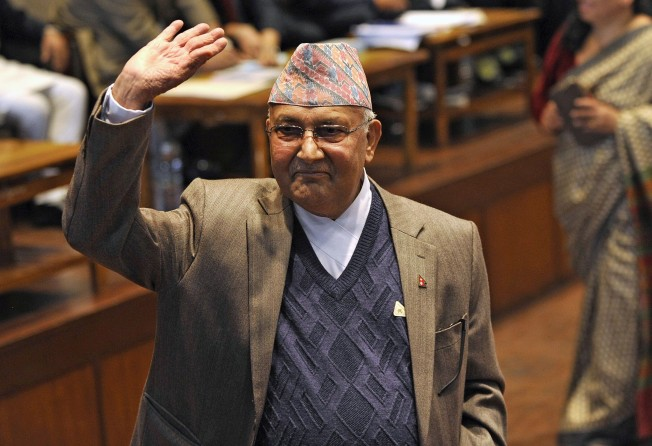Nepal leader vows to revive Chinese dam project, open to