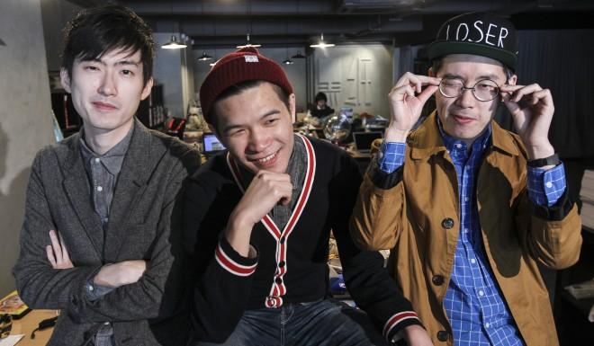 100Most founders Roy Tsui, Iu Kar-ho and Luk Ka-chun.