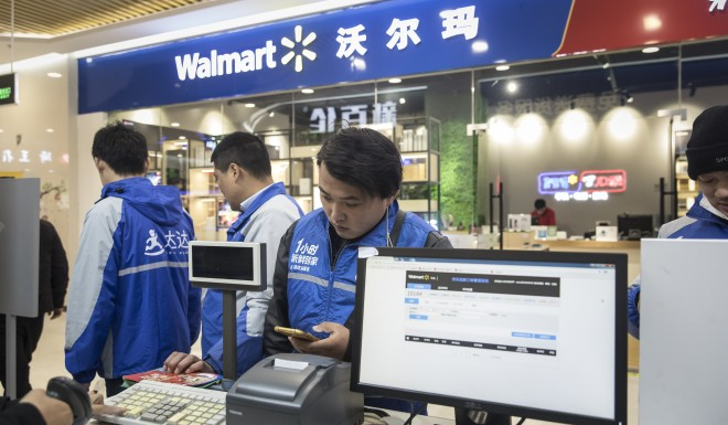 Walmart opened its first store in China in 1996.
