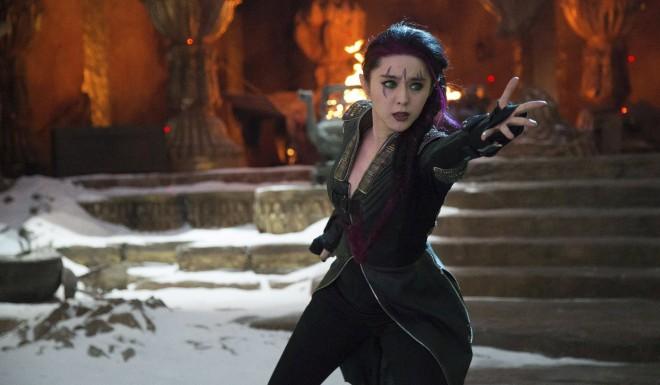Fan Bingbing starred as the mutant Blink in X-Men: Days of Future Past.