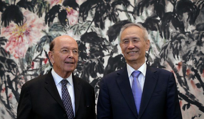 US Commerce Secretary Wilbur Ross met with Chinese Vice Premier Liu in Beijing on Jun 3 to negotiate a resolution to the US-China trade dispute.