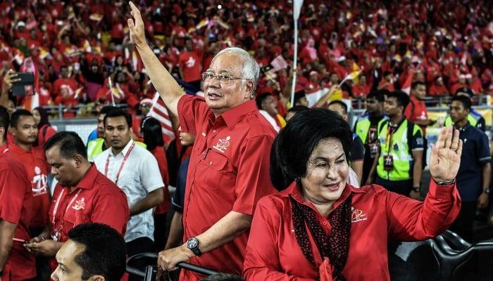 Image result for Malaysia's Red Shirts and Najib Razak
