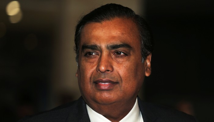 Mukesh Ambani goes after Jeff Bezos