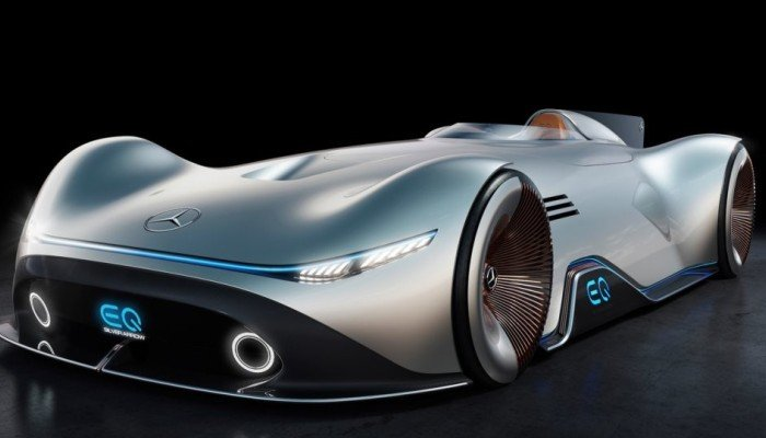 Back To The Future Of Mercedes Eq Silver Arrow E Concept Design Inspired By Iconic Racing Car Style Magazine