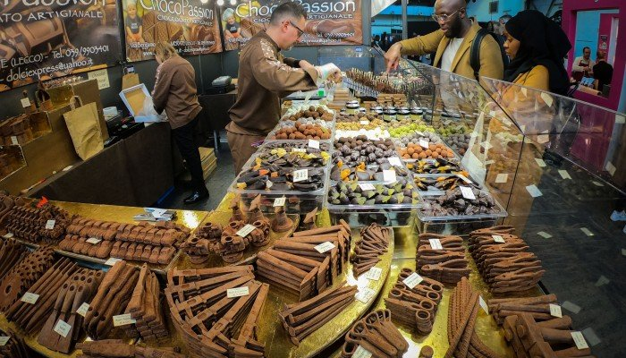 In pictures: Brussels' Chocolate Fair