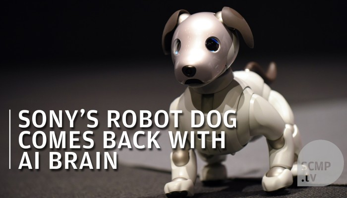 Sony upgrades robot dog with AI brain | South China Morning Post
