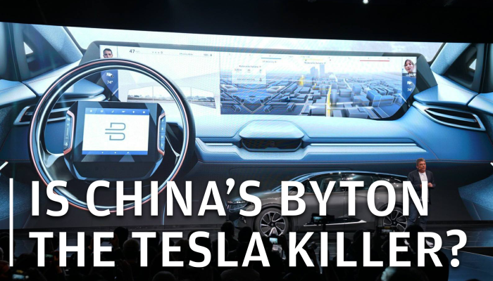 China-backed Byton woos CES with electric car that's ...