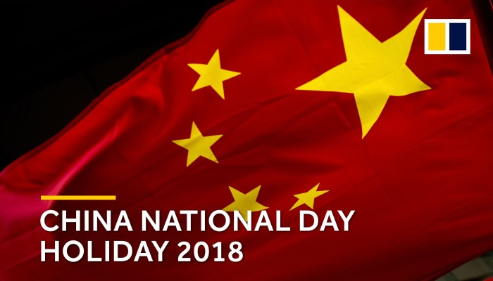 China celebrates National Day 'Golden Week' holiday with
