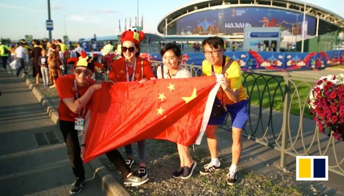 Chinese trophy factory churns out World Cup merchandise