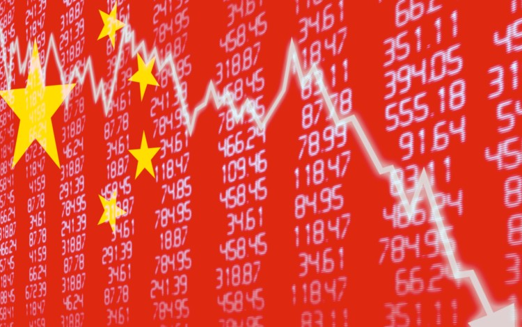 China Stocks On Verge Of Bear Market After Week That Saw US$514 Billion Drop In Market Cap, Equivalent To Sweden's GDP