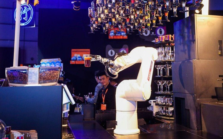 Robotic Bartenders And Smart Hotels: Alibaba's Vision Of Future Consumption