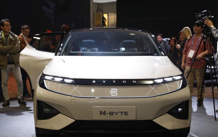 Can China's Electric-Car Start-up Byton Beat Elon Musk's Tesla?