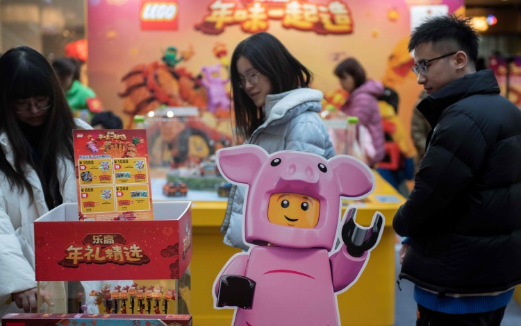China's Lunar New Year Spending Growth Slows To Decade Low Despite Record US$148.96 Billion Sales
