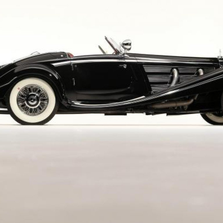 Rare Mercedes 1936 540k Special Roadster Goes On Auction South