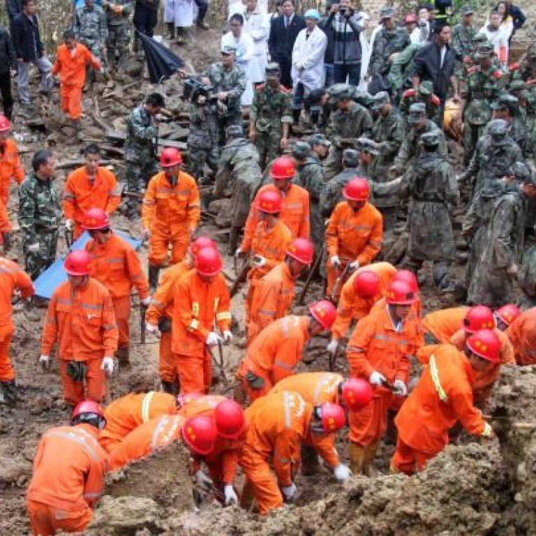 Heavy rain behind the deadly landslide   South China Morning