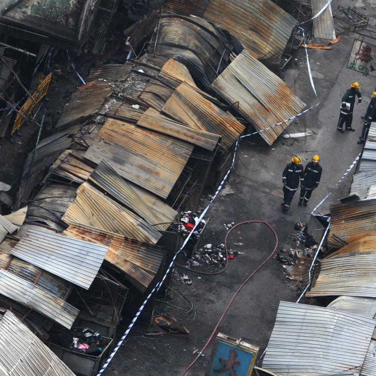 report to blame faulty wiring, and not arson, for fa yuen street fire