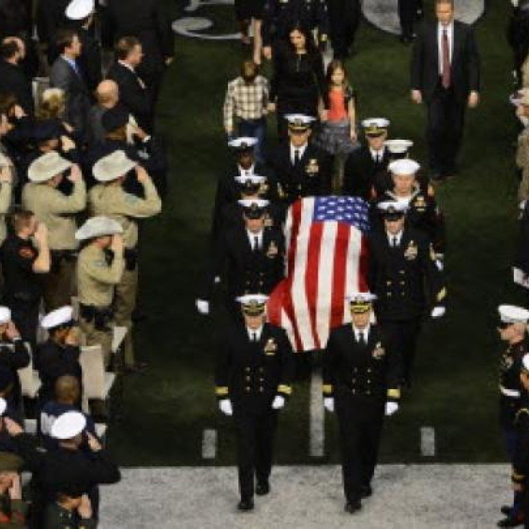 Ex-Navy Seal murdered at shooting range is laid to rest