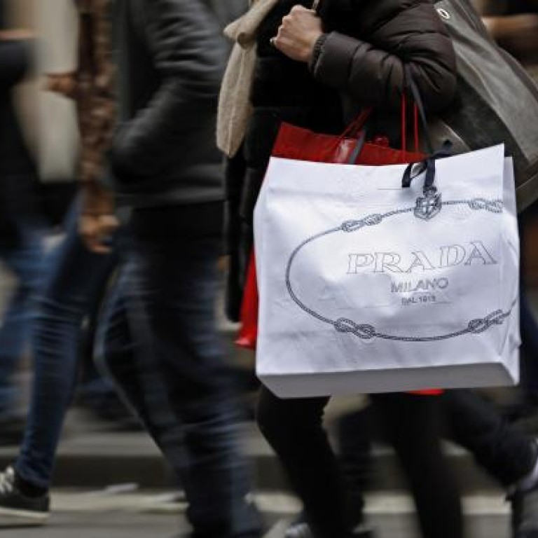 e0f2f76aac Prada's sales of luxury goods continued to enjoy healthy growth in the Asia-Pacific  region