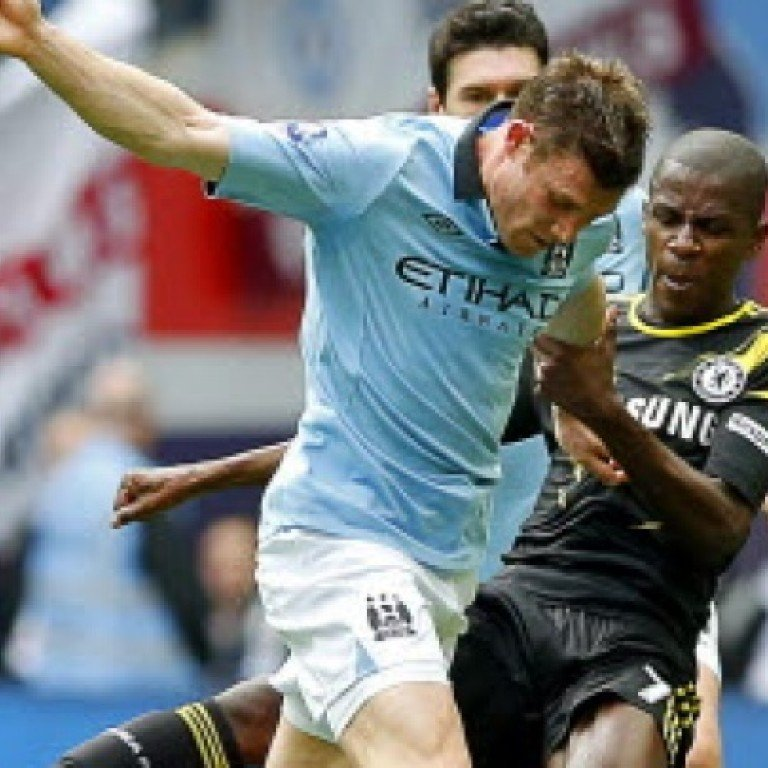 e4bb7850054 Chelsea's Ramires (right) in action against James Milner (left) of  Manchester City