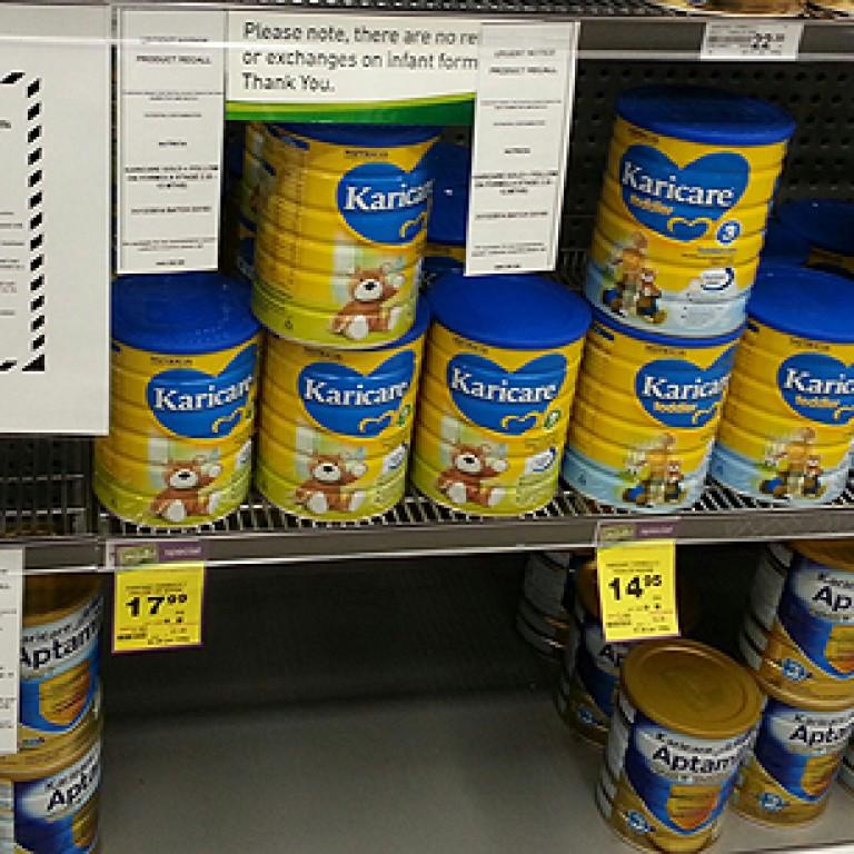 Second brand of Fonterra-linked baby milk formula recalled