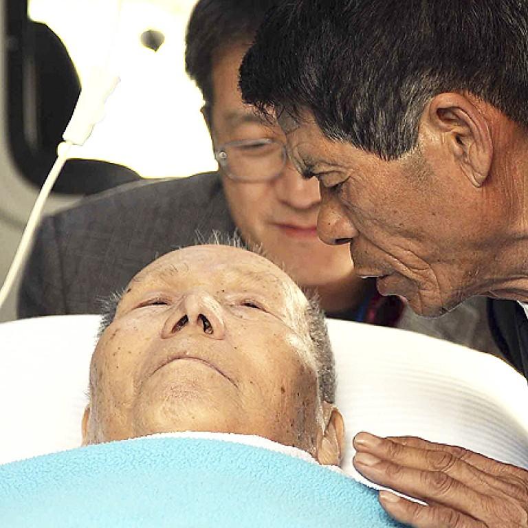 Politics intrude at emotional Korean family reunion   South China Morning  Post