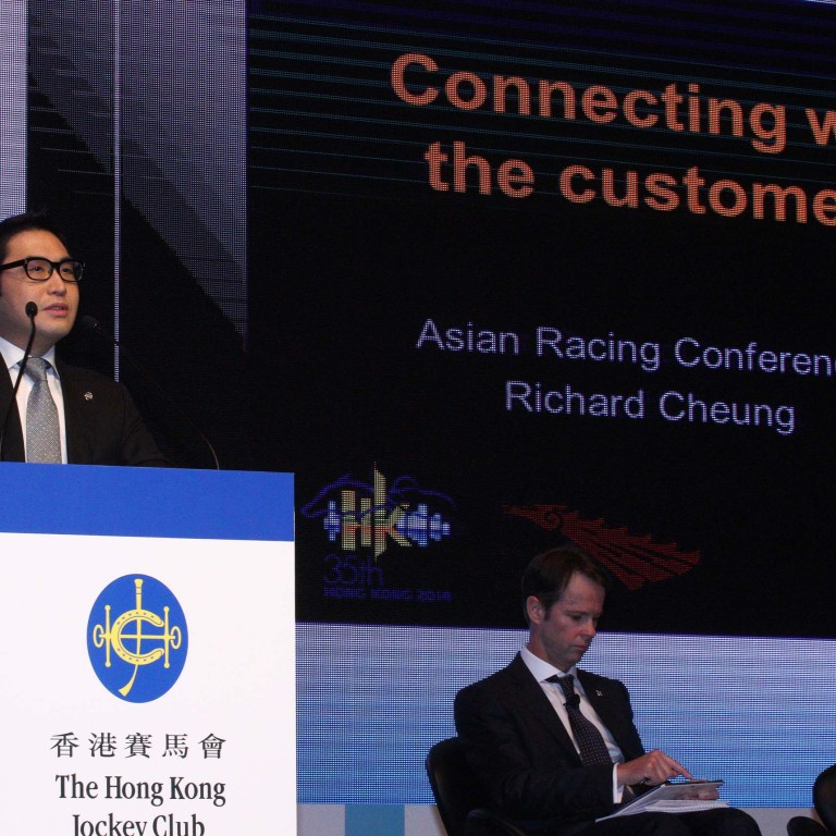 HKJC's Richard Cheung tells ARC that customer connection is
