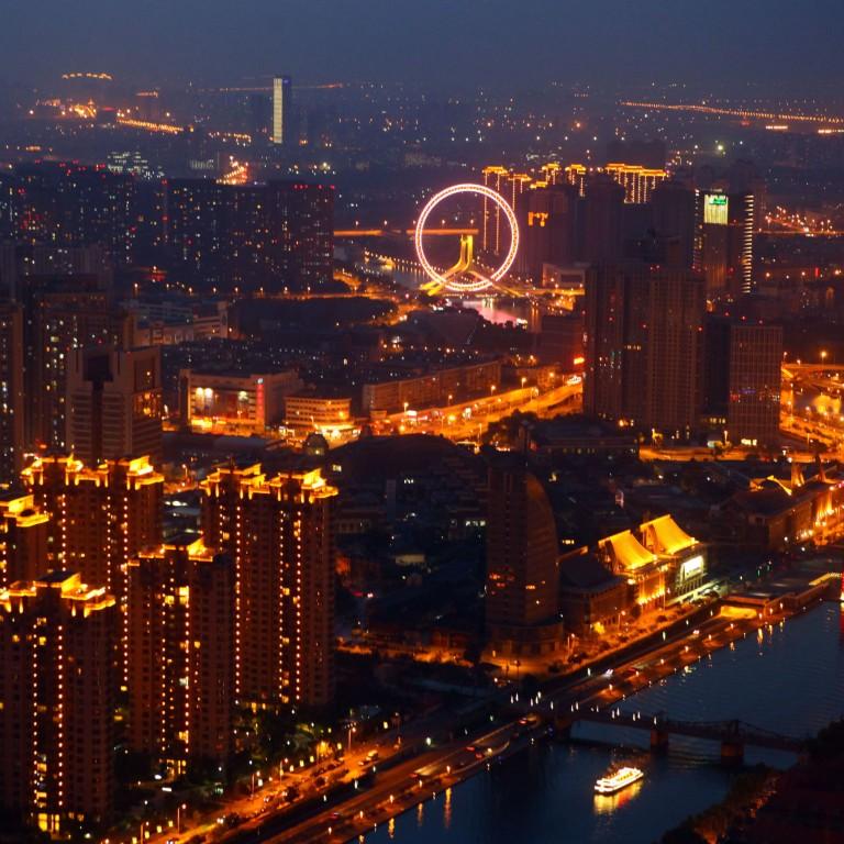 Frau aus Tianjin