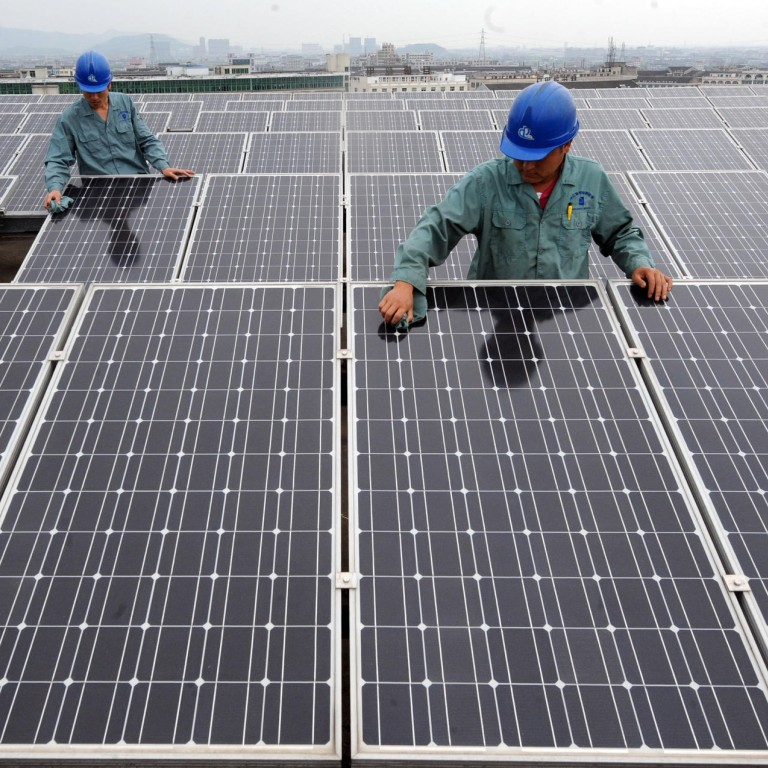 Carbon Footprint From Chinese Solar Panels Twice The Size Of Those Made In Europe South China Morning Post