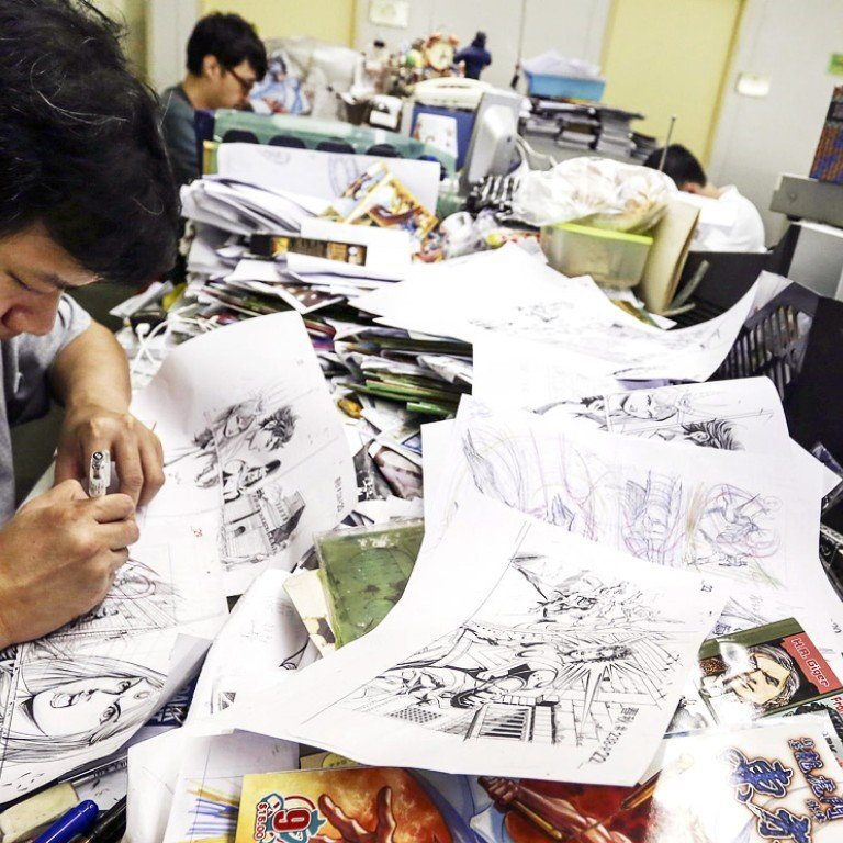 Hong Kong comic book industry struggles against rising tide of
