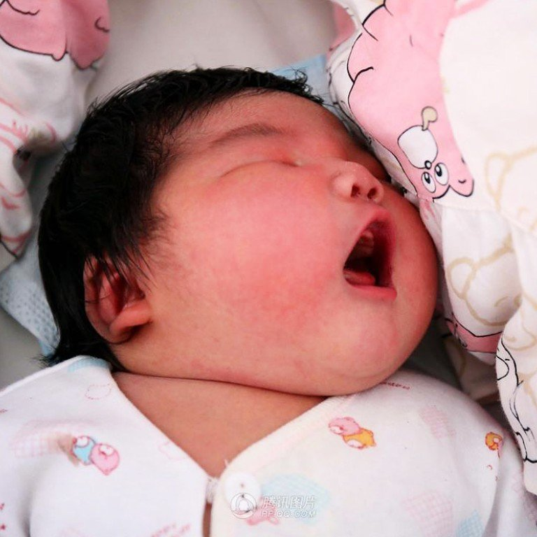 Chinese Mother Gives Birth To Whopping 6 3kg Baby Boy South China Morning Post