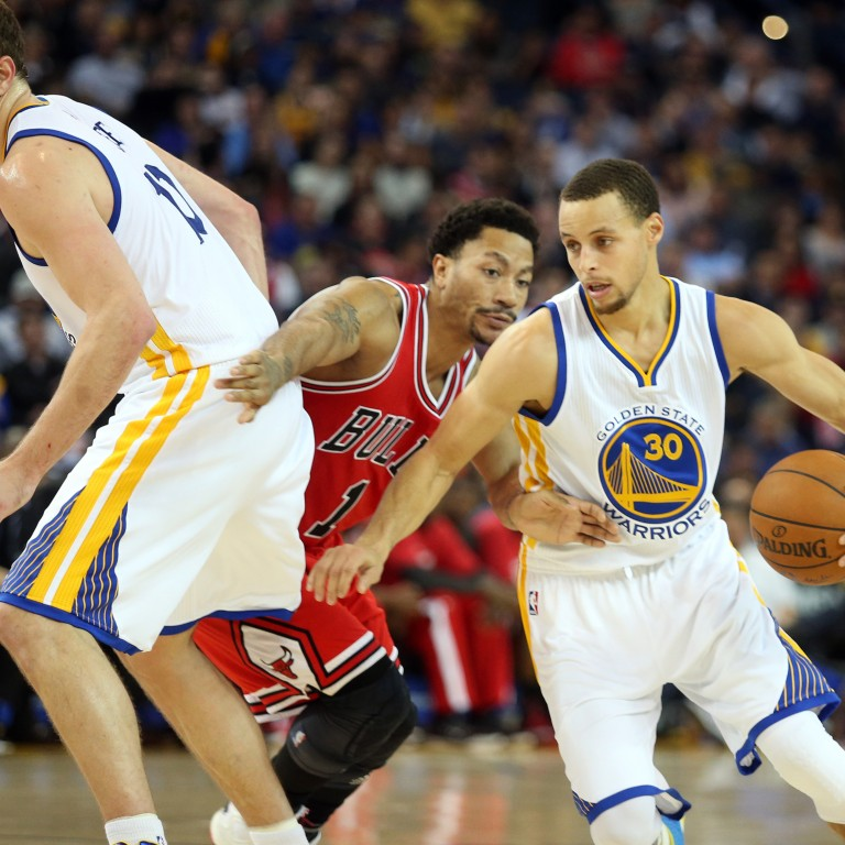 a838af47f66f Golden State Warriors  Stephen Curry (right) is his team s star player.  Photo