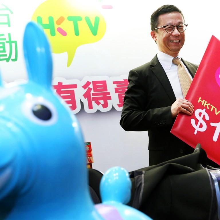 223f70418 Hong Kong Television Network Limited (HKTV) Chairman Ricky Wong Wai-kay at a