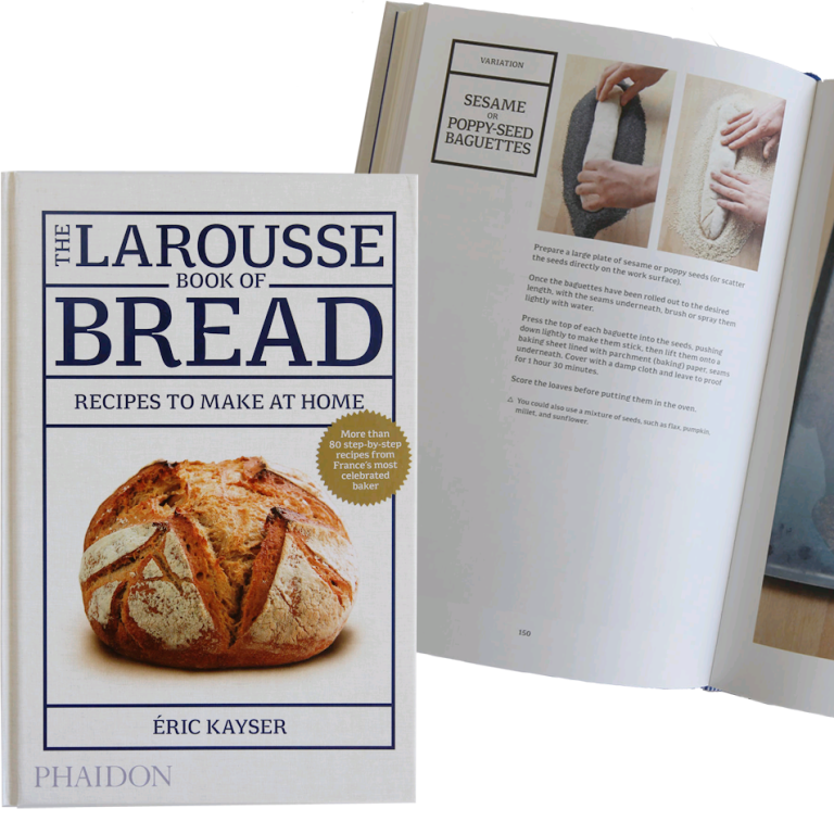 Food book: The Larousse Book of Bread - French guide to baking