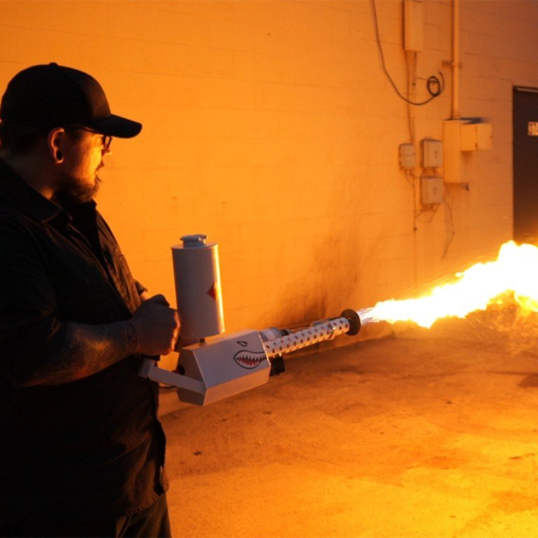 Behold the XM42 'flamethrower' - the terrifying weapon you can now easily  buy online | South China Morning Post