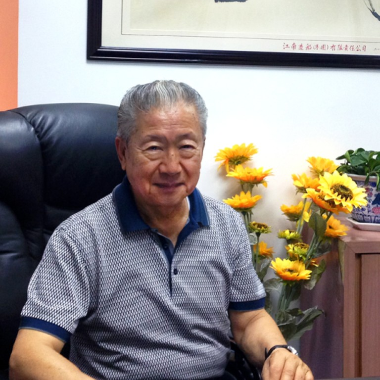 Steve Hsu says he is enjoying running his two farms on the mainland without  the pressure