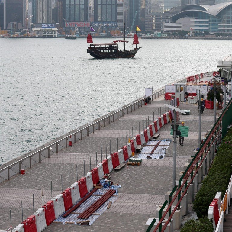 Controversial renovation work on Hong Kong's Avenue of Stars