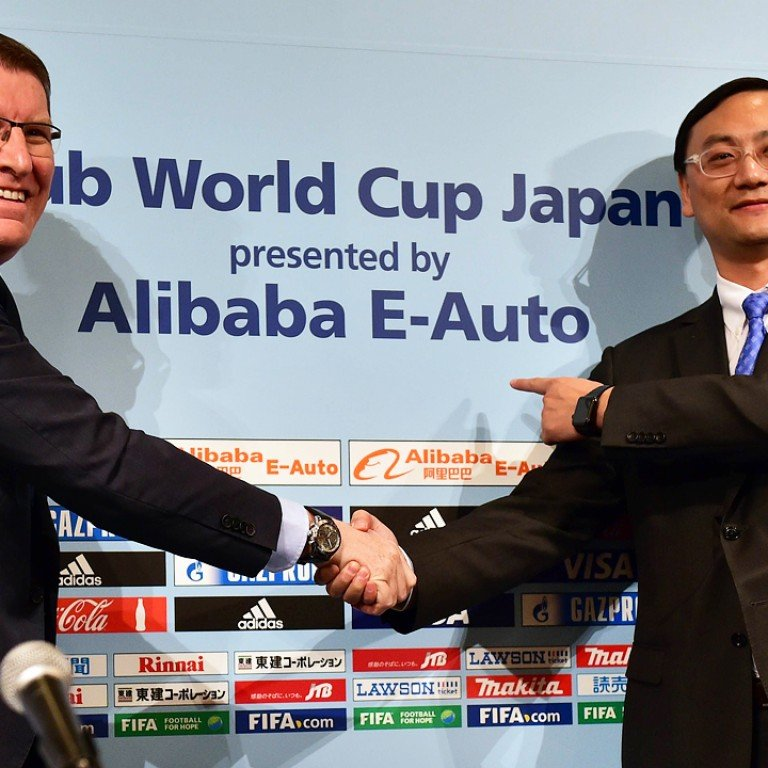 Scandal-plagued Fifa scores sponsorship deal with Alibaba E
