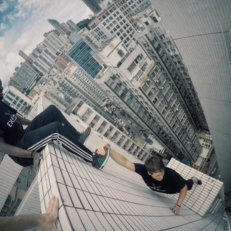 Hong Kong Parkour: Freerunners Storror Leap Buildings, Blow
