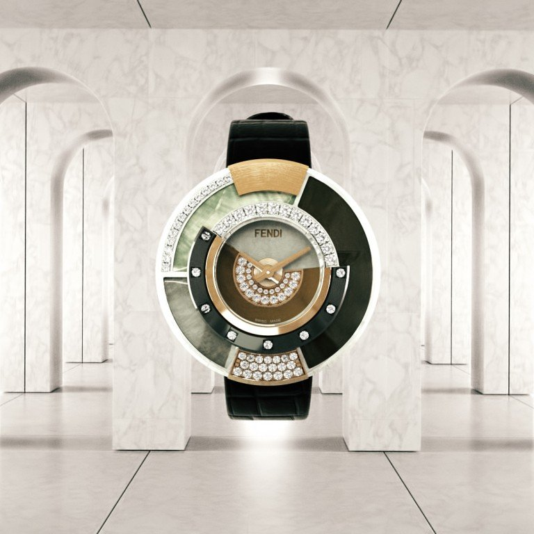 d66ebfe6f1 Fendi launches Policromia high jewellery watch | South China Morning ...