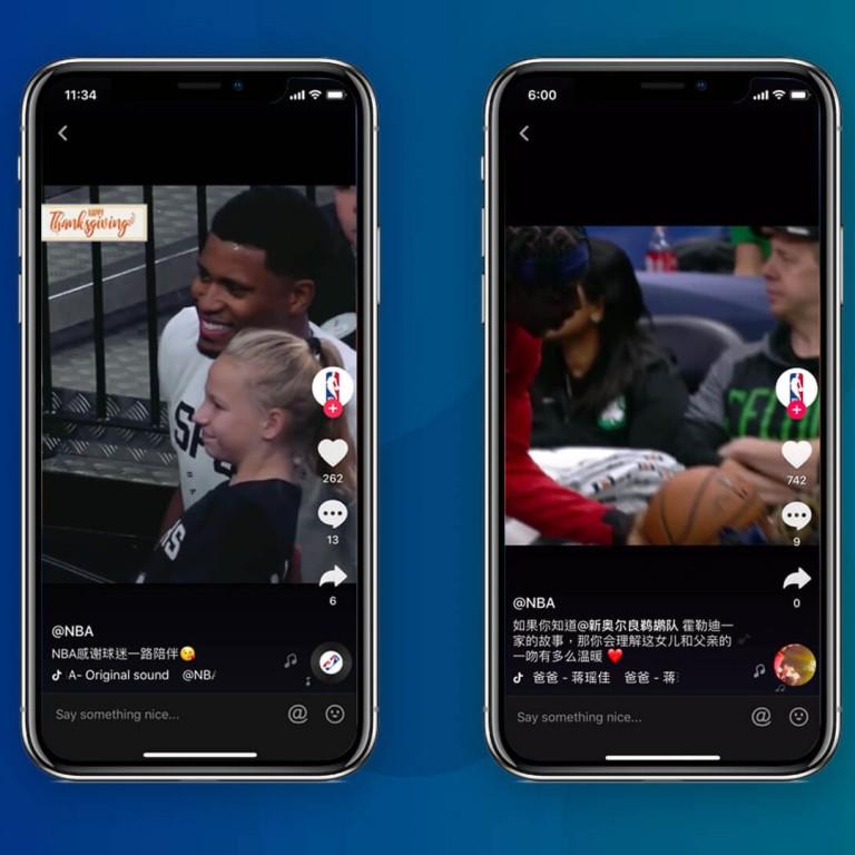 NBA jumps on TikTok craze | South China Morning Post
