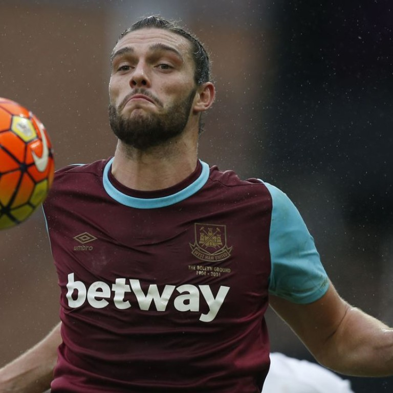ca3b75a39 West Ham United striker Andy Carroll controls the ball. West Ham United  have won the