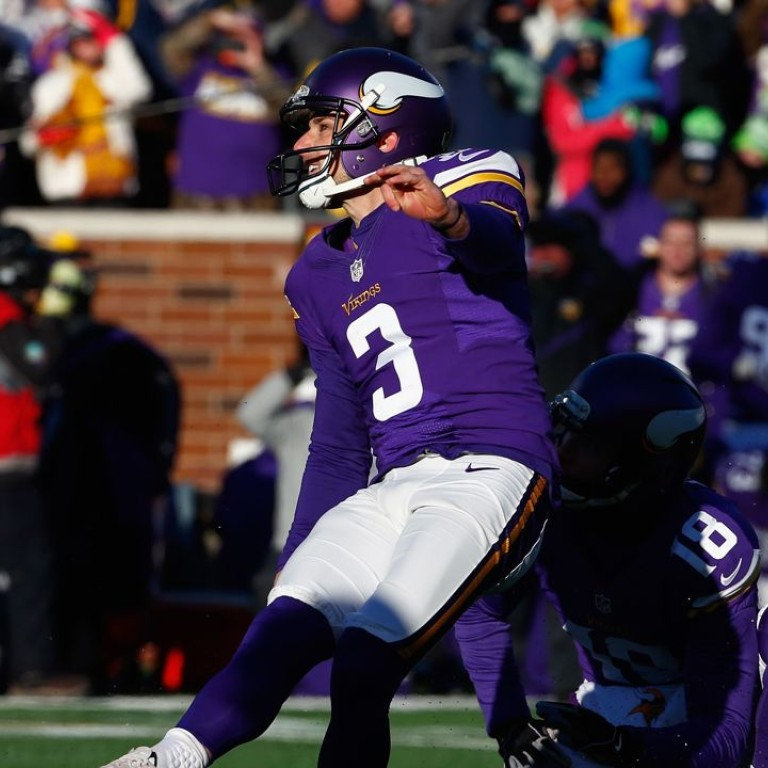 sports shoes 8c419 8f5d0 Agony for Minnesota Vikings as missed field goal advances ...