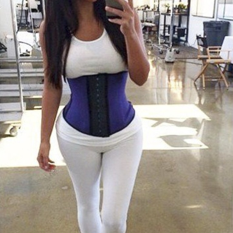 991f5c24ec  It s like a sauna for my belly   corset-like waist trainer meets sceptical  scientists